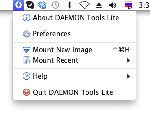 DAEMON Tools Lite for Mac 1.2 full
