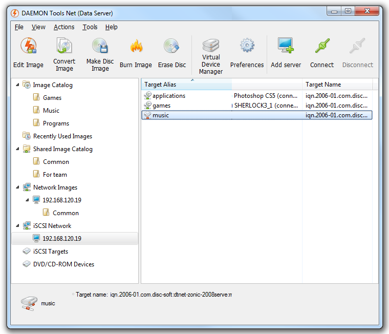 DAEMON Tools Net Screenshot